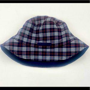 Burberry Plaid Navy bucket hat